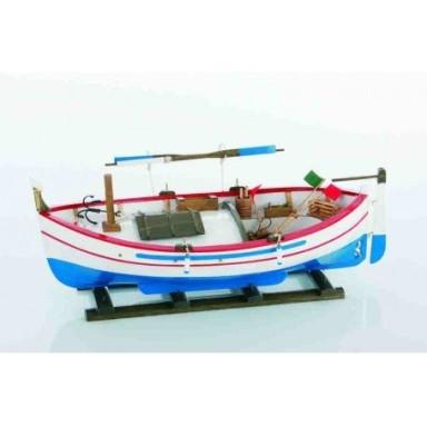 Barca de Pesca Mediterránea Decoración