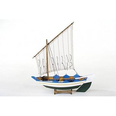 Barca de Pesca Gamela Decoración