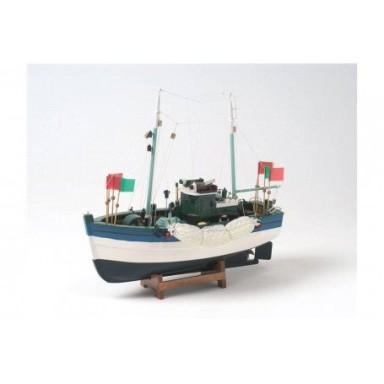 Pesquero Azul Decoración Marina