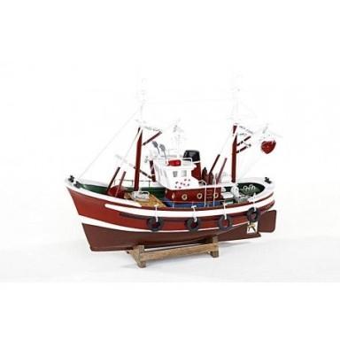 Pesquero Cantábrico Rojo Decoración