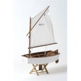 Velero Optimist Blanco Decoración (3u)