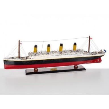 Crucero Rms Titanic Con Luz Decoración