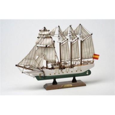 barco js elcano decoracin marina