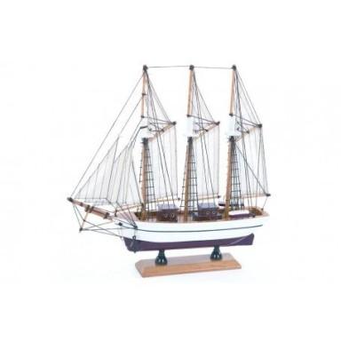 Barco Pailebot Decoración Marina (2u)