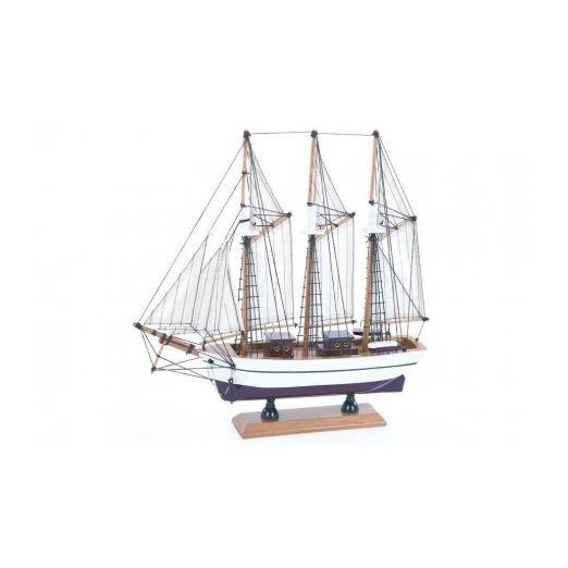 Barco Pailebot Decoración Marina