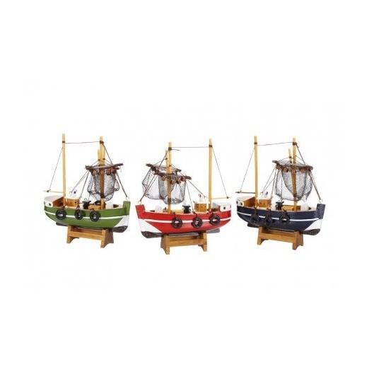 Barcos De Pesca Colores Decoración