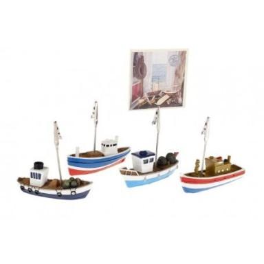 Pinzas Barcos Decoración
