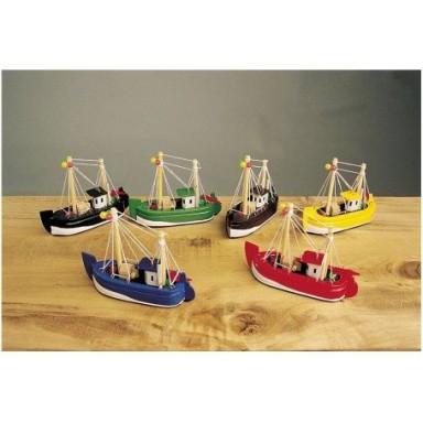 Barcas De Pesca Decoración De colores