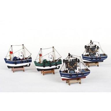 Pesqueros Miniatura Decoración