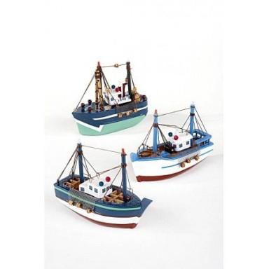 Pesqueros Azules Decoración