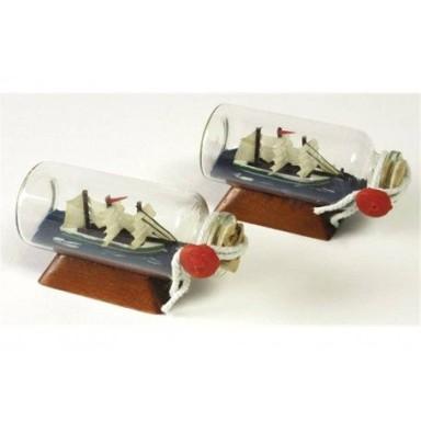 Barcos En Botella Pequeños Decoración