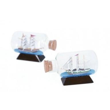 Barcos En Botella Decoración Marítima
