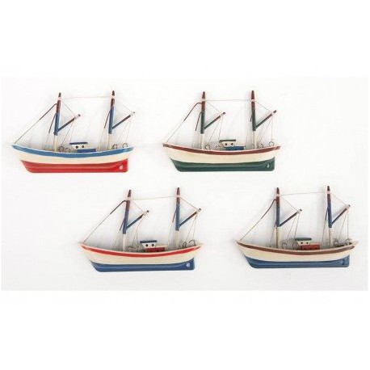 Imanes barcos de pesca decoraci n nautica avi o - Decoracion de barcos ...