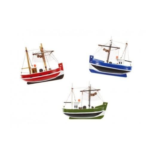 imanes barcos de pesca colores decoracin