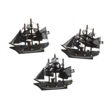 Imanes Barco de Piratas Decoración