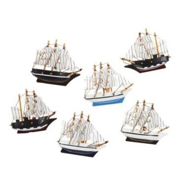Imanes Barcos Decoración