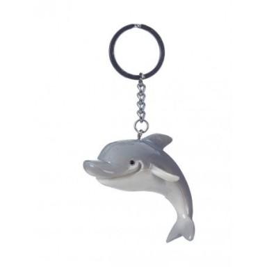 Llavero Delfín Gris