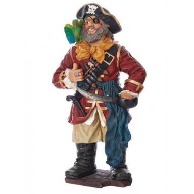 Muñeco Pirata Con Loro (1u)