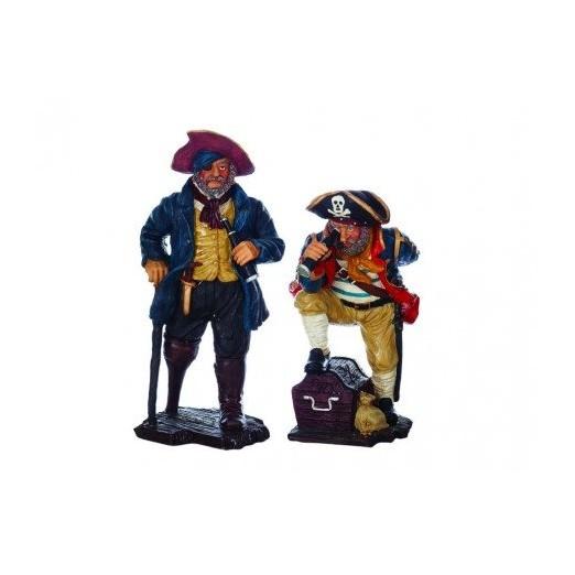 Figura Dos Piratas Decoración