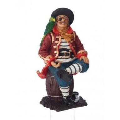 Figura Pirata Con Loro Decoración (1u)