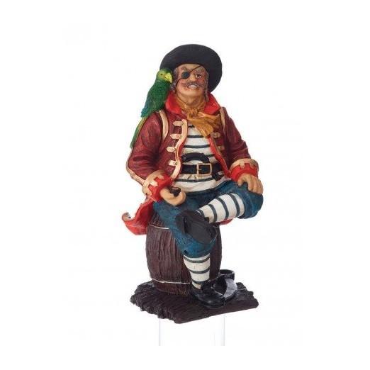 Figura Pirata Con Loro Decoración