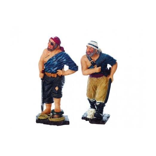 Dos Piratas Azules Decoración