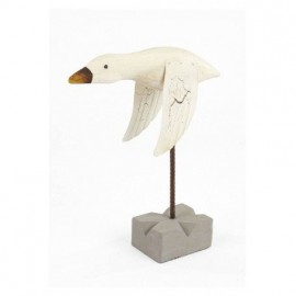 Pájaro Marinero Blanco II Decoración