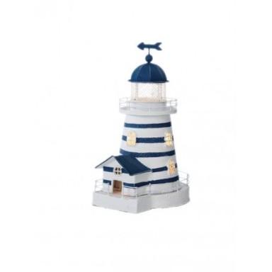 Lámpara Faro a Rayas Decoración