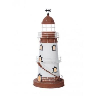 Lámpara Faro Hojalata Decoración