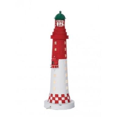 Lámpara Faro con Cuadraditos Decoración