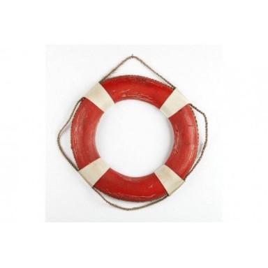 Salvavidas Rústico Rojo