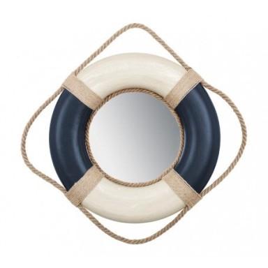 Espejo Salvavidas Azul y Blanco (2u)