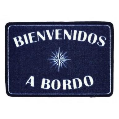 Alfombra Azul Bienvenidos a Bordo
