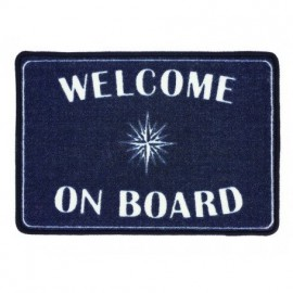 Alfombra Azul Welcome on Board