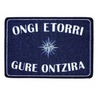 Alfombra Azul Ongi Etorri Gure Ontzira