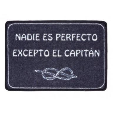 Alfombra Nadie Es Perfecto Excepto el Capitán