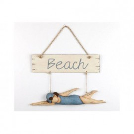 Cartel Beach Decorativo (2u)
