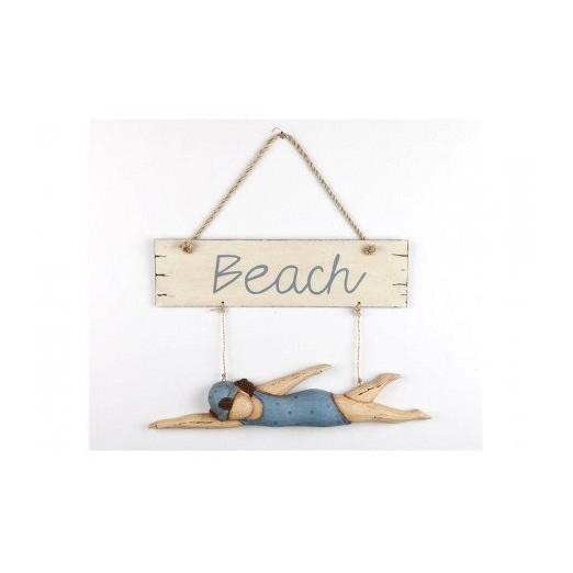 Cartel Beach Decorativo