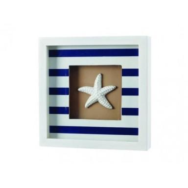 Cuadro Marinero Estrella de Mar Decoración