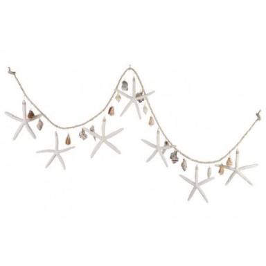 Cuerda Estrellas de Mar Decoración