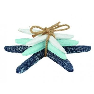 Estrellas de Mar Azules Decoración