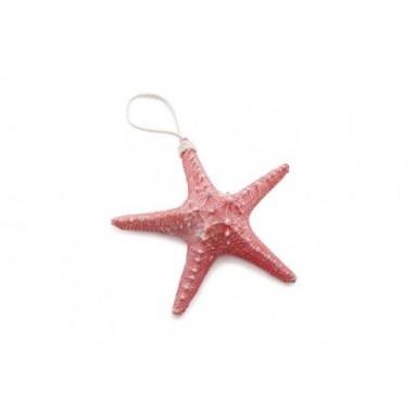 Colgante Estrella de Mar Roja Decoración (6u)