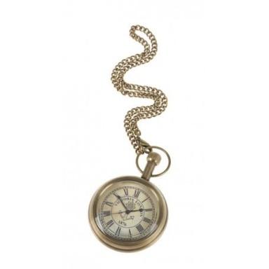 Reloj de bolsillo en Latón Viejo (1u)