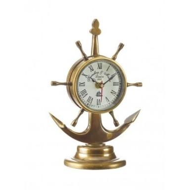 Reloj Náutico Ancla Decoración (1u)