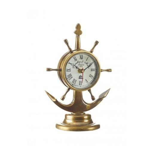 Reloj Náutico Ancla Decoración