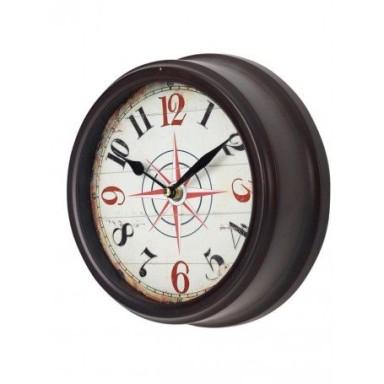 Reloj de Pared Rosa de los Vientos Decoración (1u)