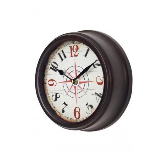 Reloj de pared rosa de los vientos decoraci n nautica avi o - Relojes de decoracion ...
