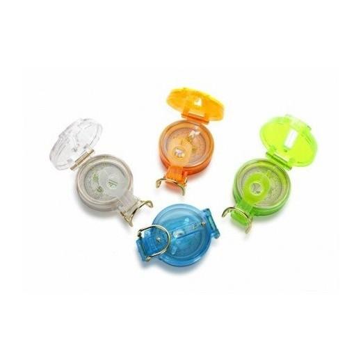 Brújula de Plástico Colores