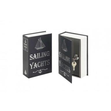 Caja Fuerte Libro Sailing Yatch (2u)