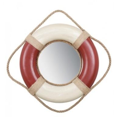 Espejo Salvavidas Rojo y Blanco (2u)